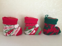 plastic Christmas boots