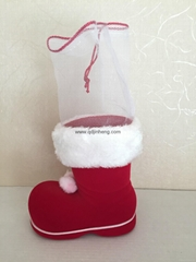 hanging Christmas boots