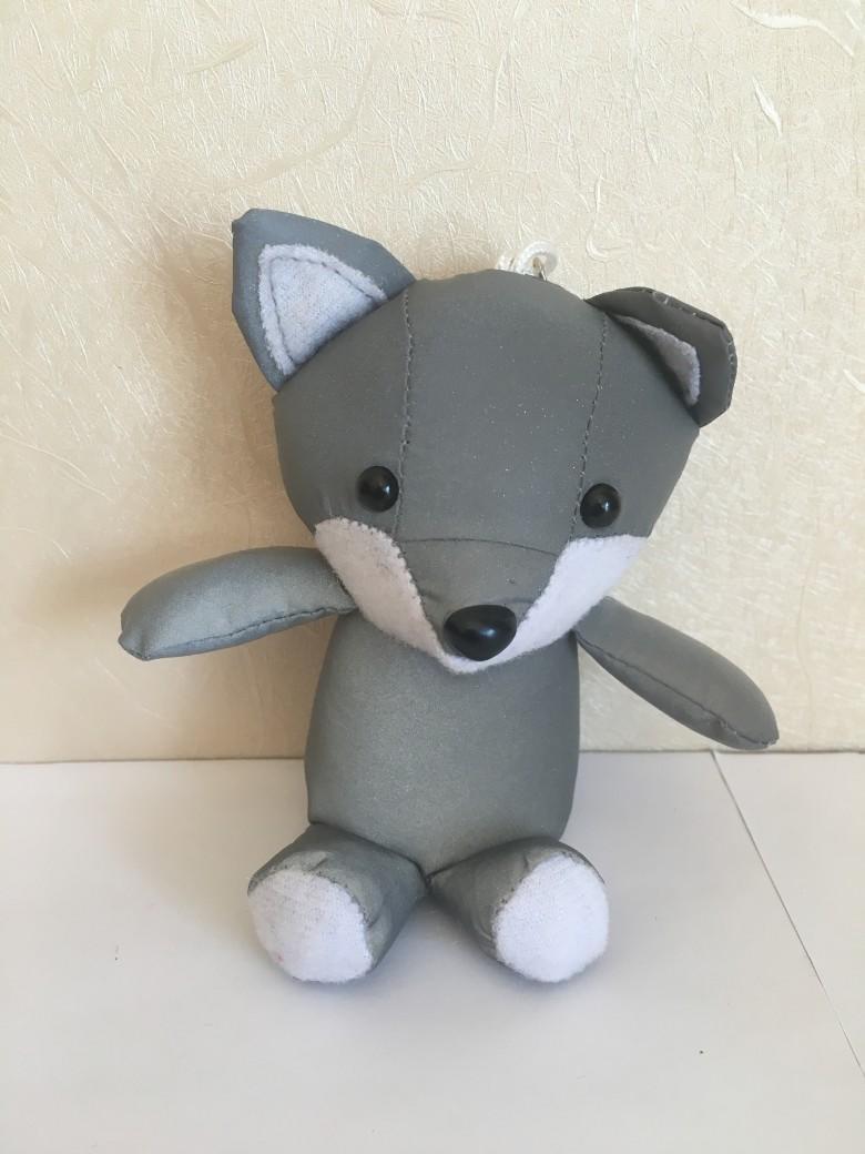 反光面料狐狸玩具 1