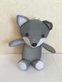 反光面料狐狸玩具