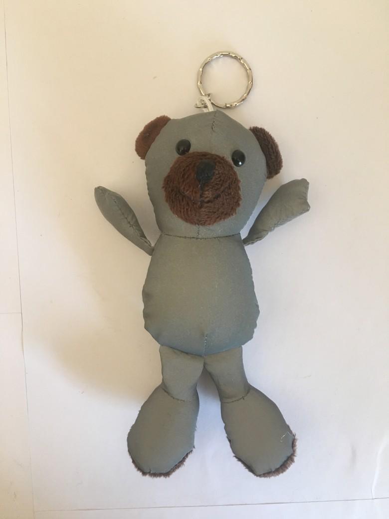 反光面料小熊玩具 1