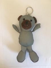反光面料小熊玩具