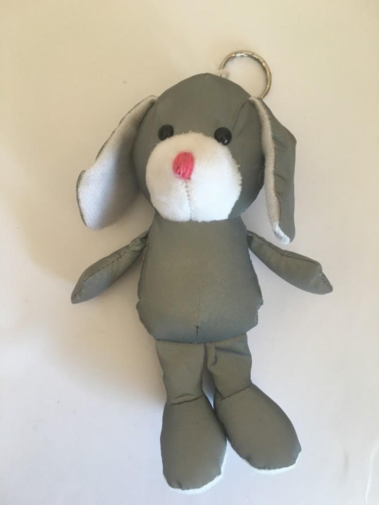 反光面料小狗玩具 1