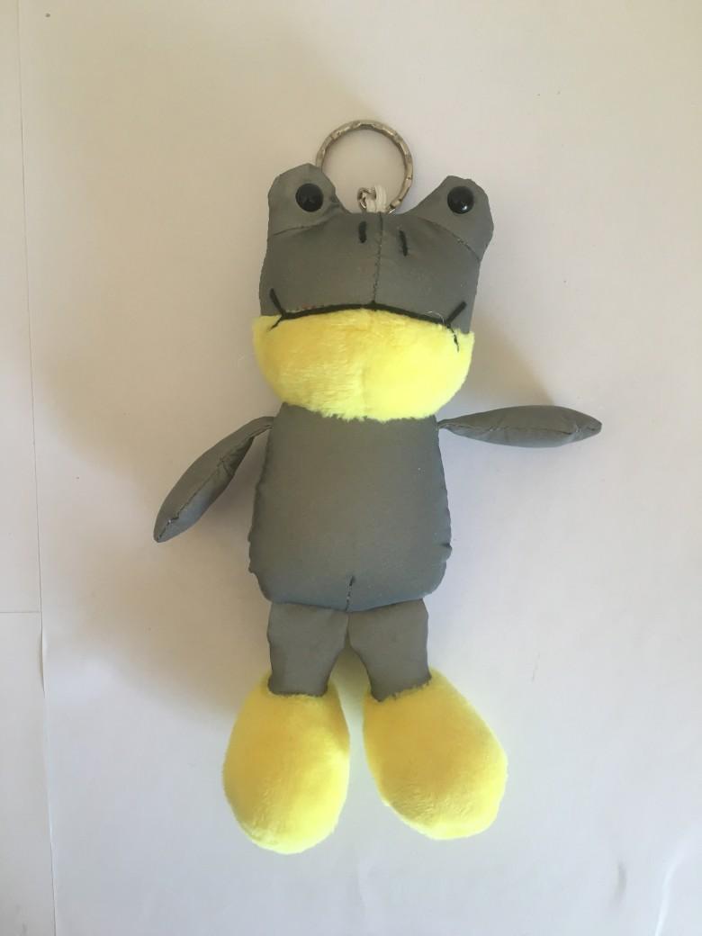 反光面料青蛙玩具 1
