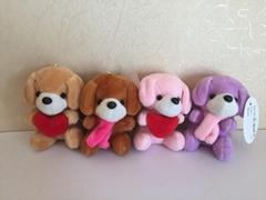 Plush dog toys