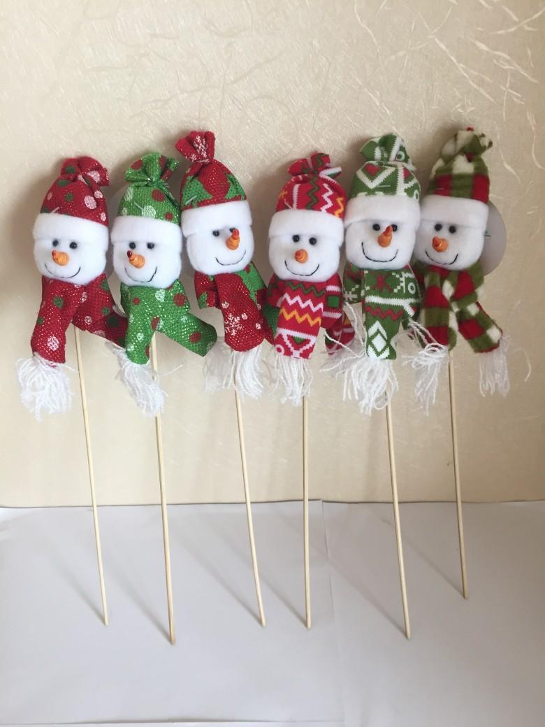 插枝圣诞雪人 1