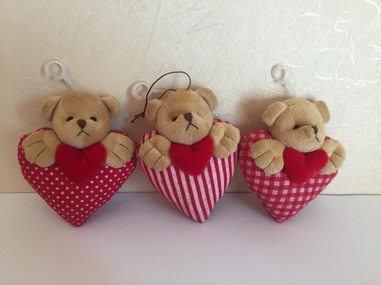 情人節心型小熊 1