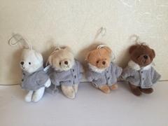 穿衣服的泰迪熊毛绒玩具