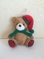 12CM聖誕坐熊