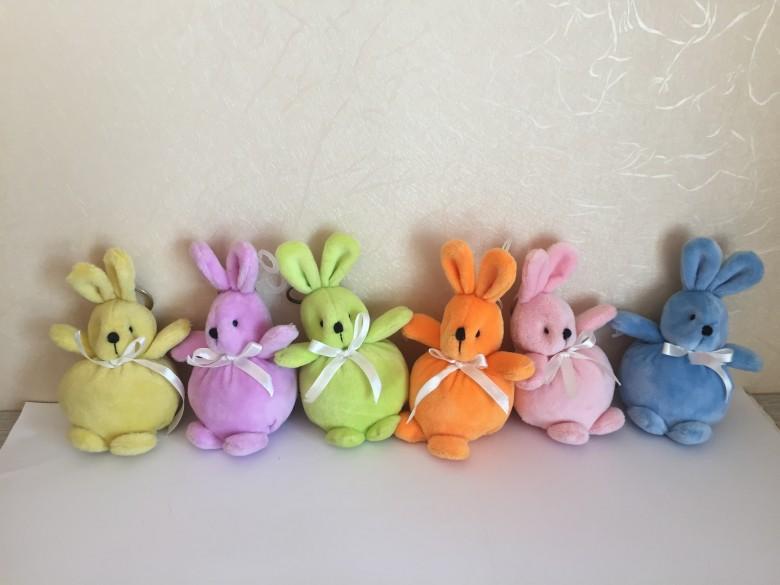 8CM大肚子填充兔子 1
