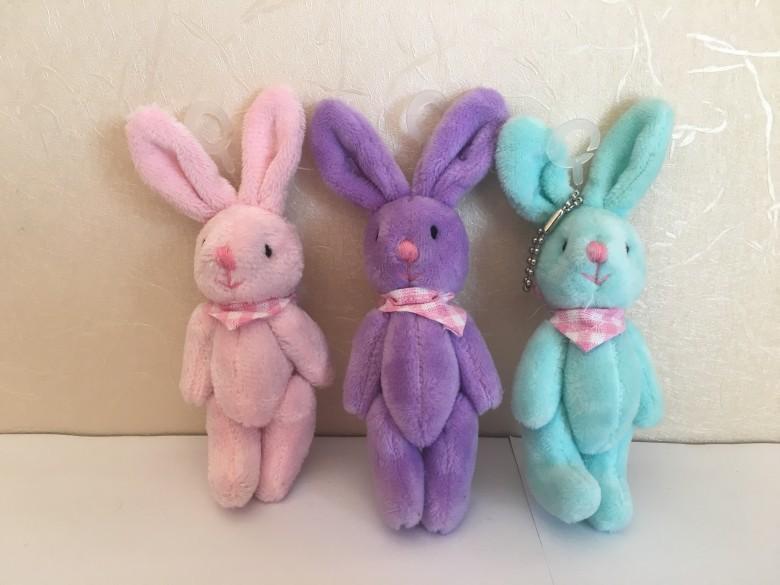 吊填充兔子 1