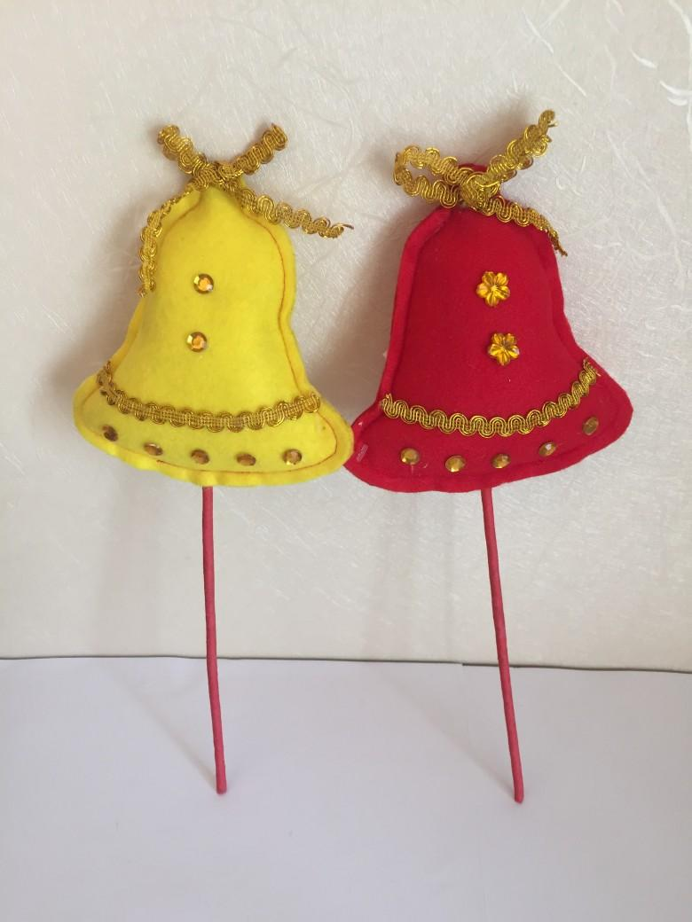 圣诞节插枝填充铃铛 1