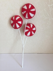 fabric windmill for Christmas