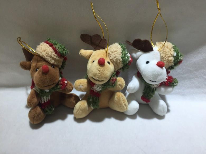 Christmas caribou Pendant
