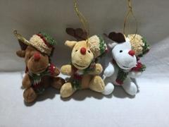 圣诞驯鹿挂件