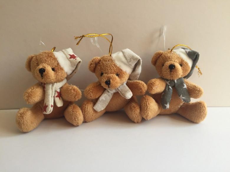 聖誕圍巾小熊 1