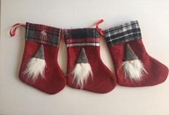 圣诞老人头靴子