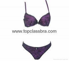 Sexy and Stylish All Lac Bra Set for Ladies with Factory Price
