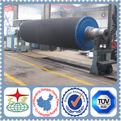 blind drilled roll for paper machine