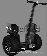 骑客御虎JAZZ安保款两轮电动治安巡逻平衡车