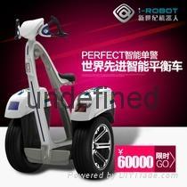 新世紀T-robot-W安保款兩輪電動治安巡邏平衡