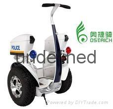 奧捷騎安保款兩輪電動治安巡邏平衡車