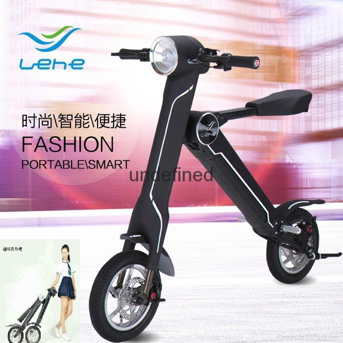 易步乐和K1两轮电动自行车 1