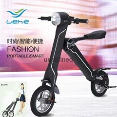 易步乐和K1两轮电动自行车