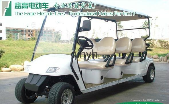 成都益高電動觀光高爾夫球車 4