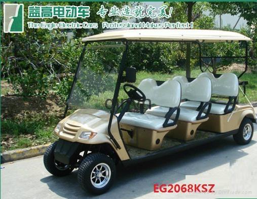 成都益高电动观光高尔夫球车 2