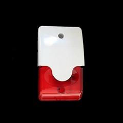 Alarm horn with strobe a