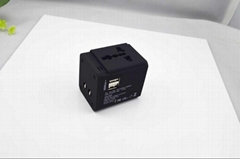 All in one World travel adapter Dual USB 2.1A
