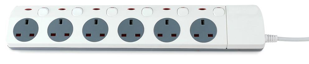 Power socket Standard Grouding  BS socket  4