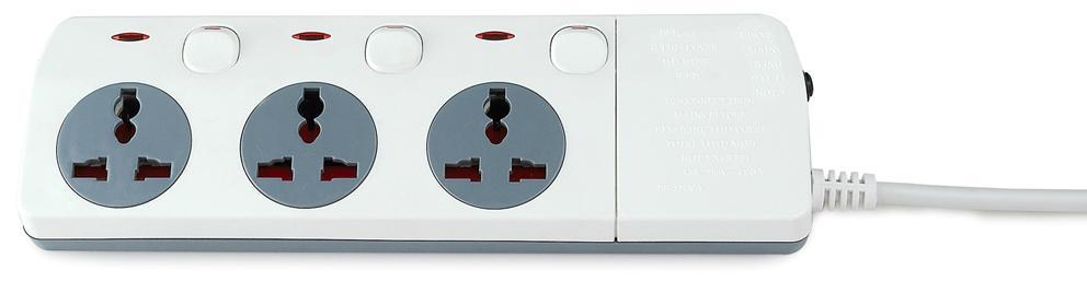 New design extension socket  Universal socket  power socket  4