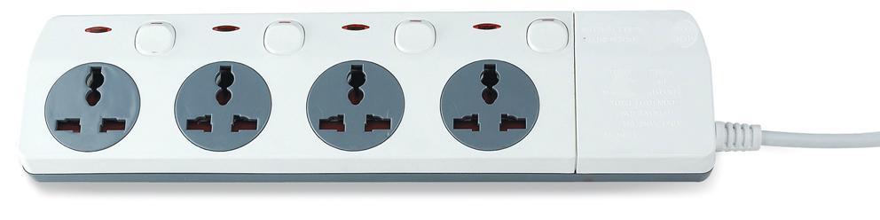 New design extension socket  Universal socket  power socket  1