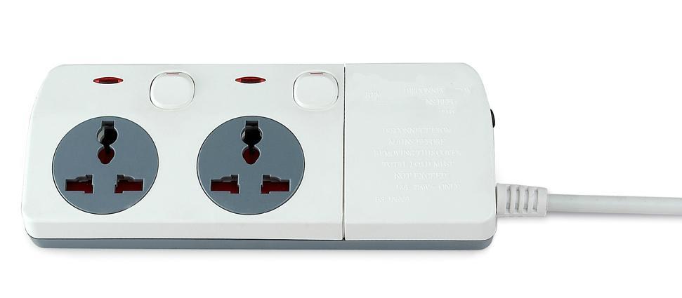 New design extension socket  Universal socket  power socket  2