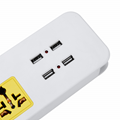 extension socket with USB port 4A usb Charger 5