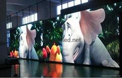 供应室内外LED广告机LED舞台车