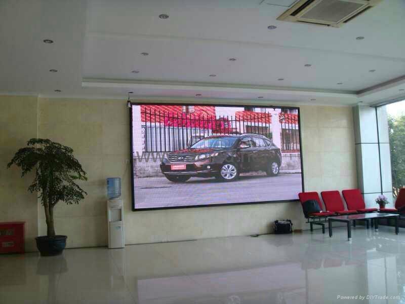 供應信陽酒店LED顯示屏 1