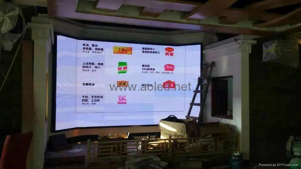 供應信陽酒店LED顯示屏 3
