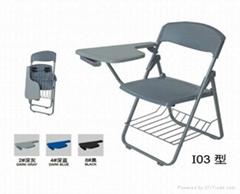 揚州培訓椅折疊椅可帶寫字板