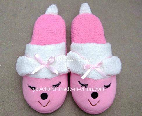 Fleece Fabric Slippers 1