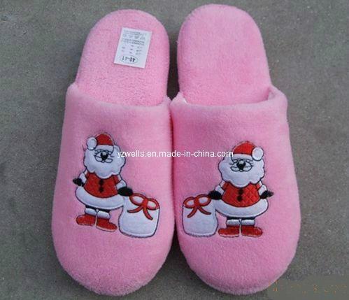 Fleece Fabric Slippers 5