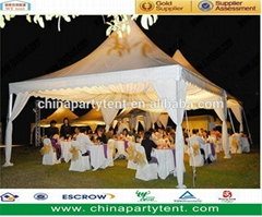 Aluminum wedding party modern pagoda tent factory price