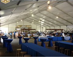 Professional customized outdoor trade show Tent large outdoor gazebo event tent