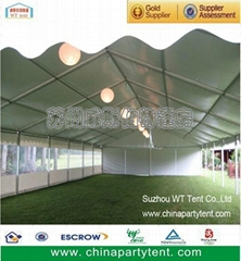 850g double pvc fabric used white wedding party tent for event