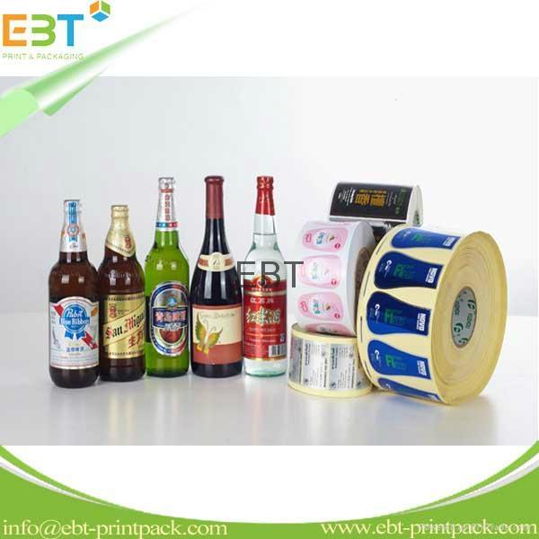 Bottled beverage label 1