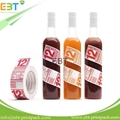 Customized plastic water bottle label 2