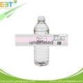 Customized plastic water bottle label 3