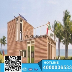 discount prefabricated wooden house for sell